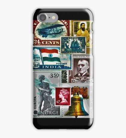 Stamps iPhone Case/Skin