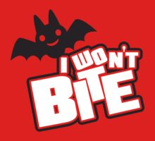 I won't bite Kids Tee