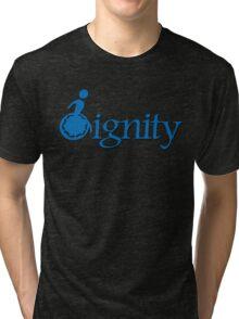 DIGNITY 2 Tri-blend T-Shirt