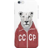 soviet lion iPhone Case/Skin