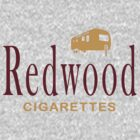 Redwood Cigarettes by GarfunkelArt