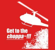 Quotes and quips - Choppa~ - dark Baby Tee
