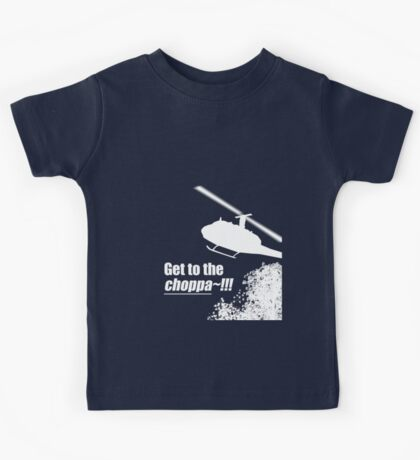 Quotes and quips - Choppa~ - dark Kids Tee