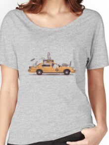 1-800-TAXI-DERMY Women's Relaxed Fit T-Shirt