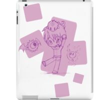 A Kid And His Monsters iPad Case/Skin
