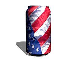 American Flag by Michael Andersen