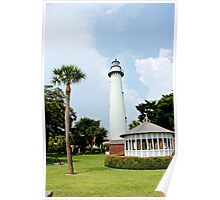 Saint Simons Georgia Lighthouse  Poster
