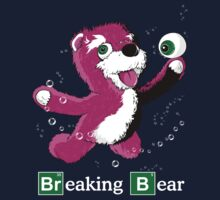 Breaking Bear Text T-Shirt