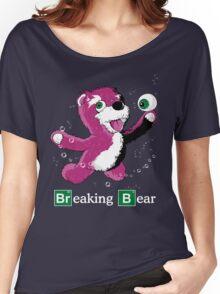 Breaking Bear Text Women's Relaxed Fit T-Shirt