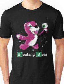 Breaking Bear Text Unisex T-Shirt