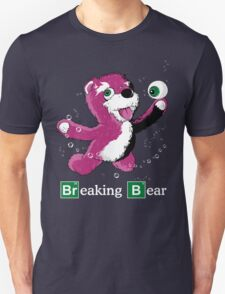 Breaking Bear Text Unisex T-Shirt
