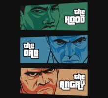 the Hood, the Dad & the Angry by pinteezy