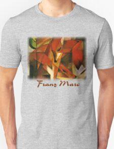 Franz Marc - Foxes Unisex T-Shirt