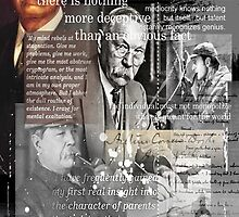 conan doyle by arteology