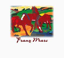 Franz Marc - Red Horses Unisex T-Shirt
