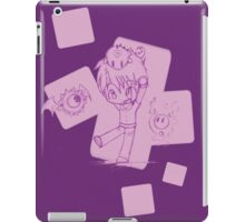 A Kid And His Monsters (Purple) iPad Case/Skin
