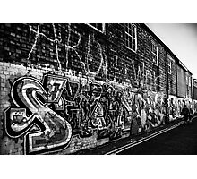Graffiti : Brighton Photographic Print
