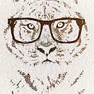 The Hipster Tiger by BelleFlores