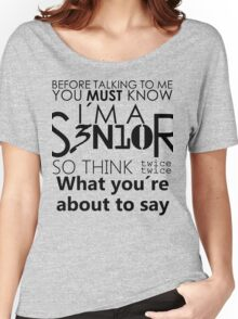 Senior Women's Relaxed Fit T-Shirt