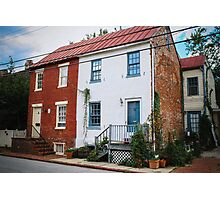 Annapolis Homes Photographic Print