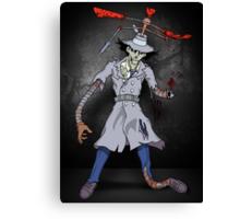 Inspector Zombie Canvas Print