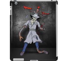 Inspector Zombie iPad Case/Skin
