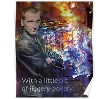 9th Doctor Who Eccelston Poster