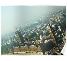 London Eye View Poster