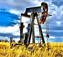 Oil Well by Michael Andersen