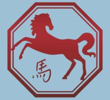 Chinese Zodiac Year of The Horse Symbol Kids Clothes
