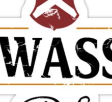 Piswasser (distressed) Sticker