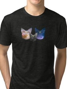 Moon Kitties Tri-blend T-Shirt