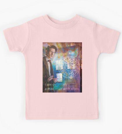 11th Doctor Who Matt Smith Kids Tee
