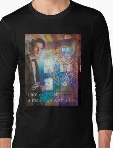 11th Doctor Who Matt Smith Long Sleeve T-Shirt