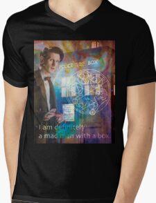 11th Doctor Who Matt Smith Mens V-Neck T-Shirt