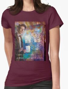 11th Doctor Who Matt Smith Womens Fitted T-Shirt