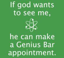 God Genius Bar Kids Tee