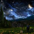 Starry Night by AlexRuizArt