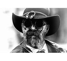 Zombie Steampunk Cowboy Photographic Print