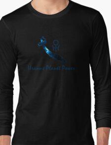 Planet Power -- Uranus Long Sleeve T-Shirt