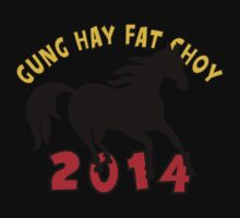 Happy Chinese New Year 2014 T-Shirts Gifts Kids Clothes