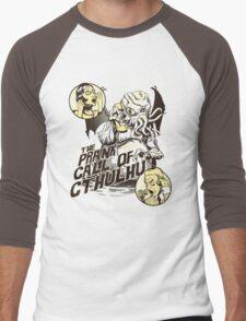 The Prank Call of Cthulhu Men's Baseball ¾ T-Shirt