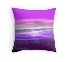 Earth Like Landscape Throw Pillow