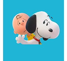 charlie brown and snoopy the peanuts movie 2 Photographic Print