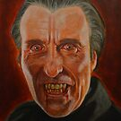 Christopher Lee as Dracula by AnthroEmesis