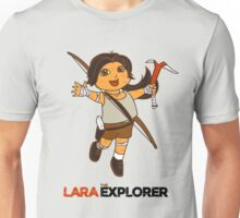Lara the Explorer Unisex T-Shirt