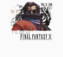 Final Fantasy X Auron  by sd772
