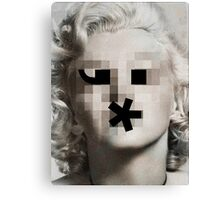 The Bombshell Emoticon Canvas Print