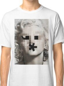 The Bombshell Emoticon Classic T-Shirt