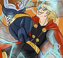 Samcedes- Thor/Storm by KirstinCreative